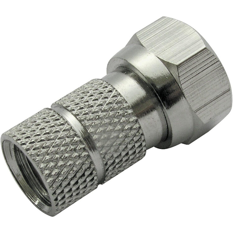 Schwaiger F-Stecker 6,5 mm 2er Set
