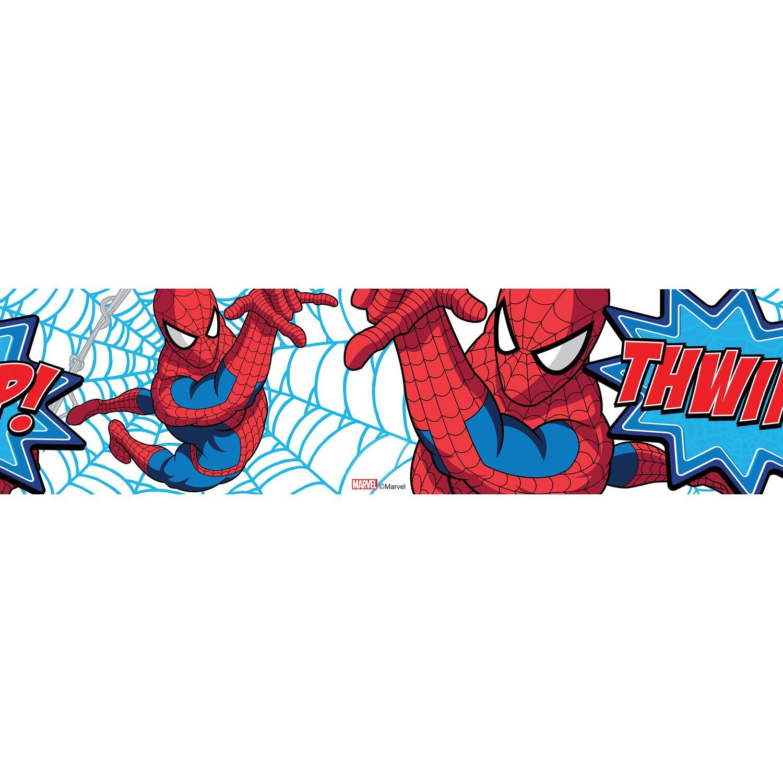 """Selbstklebende Bordüre /""""Spiderman/"""" für das Kinderzimmer"""