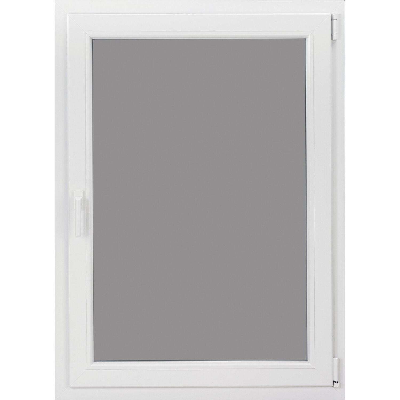 wohnraum kunststoff fenster 3 fach glas uw 0 91 wei b 80 x h 60 cm anschlag r kaufen bei obi. Black Bedroom Furniture Sets. Home Design Ideas