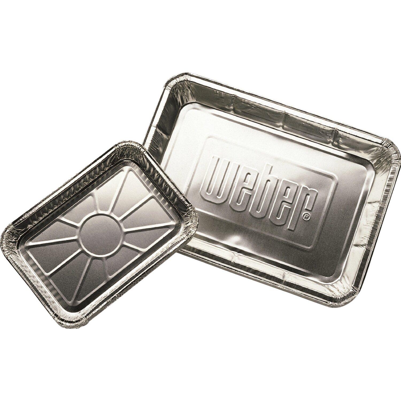 Weber Alu-Tropfschalen klein 10 Stück