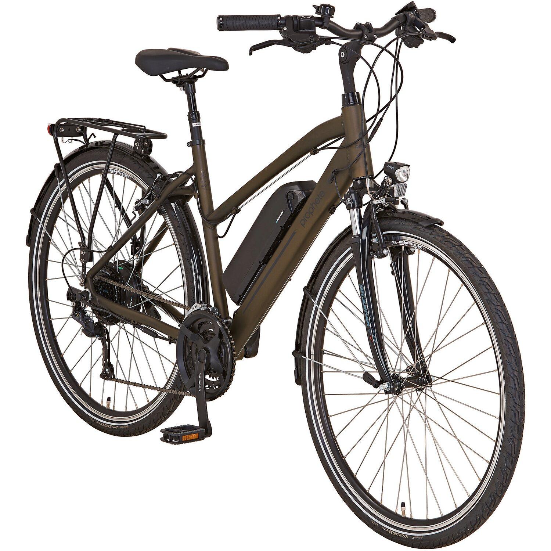 prophete e bike alu trekking fahrrad 28 entdecker e9 6 damen kaufen bei obi. Black Bedroom Furniture Sets. Home Design Ideas