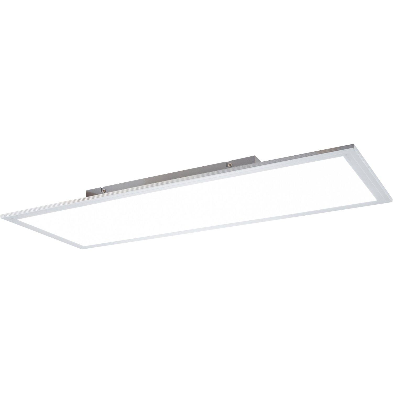 Nino Leuchten LED Deckenleuchte »Panelo«, aus Kunststoff, viereckig, warmweiß