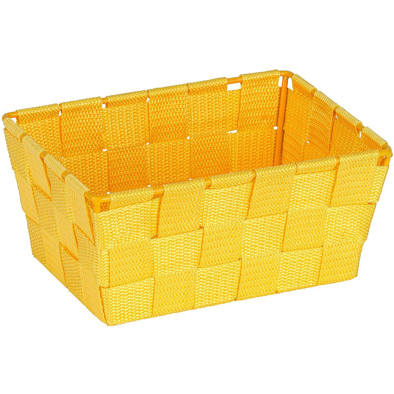 Wenko aufbewahrungskorb adria mini gelb rechteckig kaufen for Planschbecken rechteckig obi