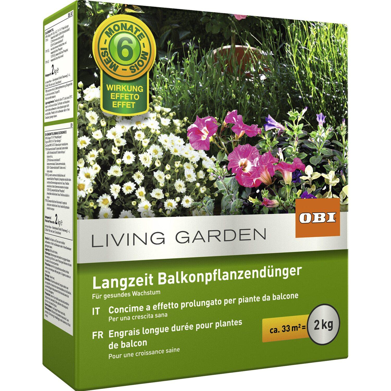 Obi Balkonpflanzen Langzeit Dunger 2 Kg Kaufen Bei Obi
