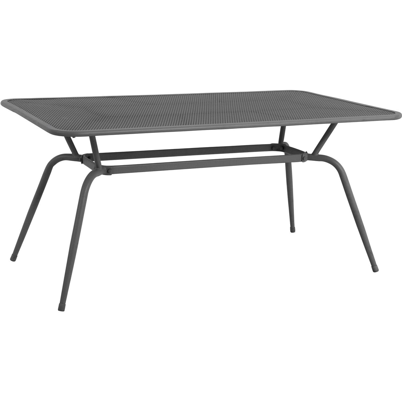 Mwh Tisch Conello 160 Cm X 90 Cm X 74 Cm Eisengrau Kaufen Bei Obi