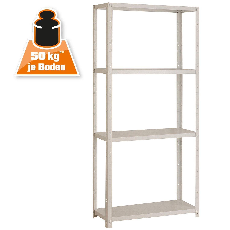 Steckregal Weiß obi metall steckregal weiß 150 x 75 x 30 cm kaufen bei obi