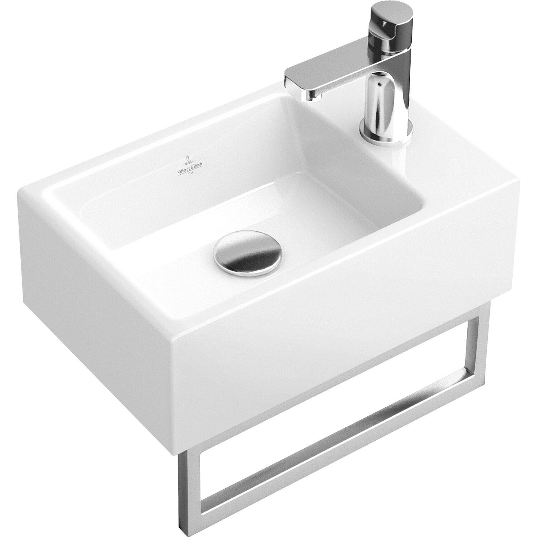 Villeroy & Boch Handwaschbecken Memento 40 cm Weiß mit CeramicPlus