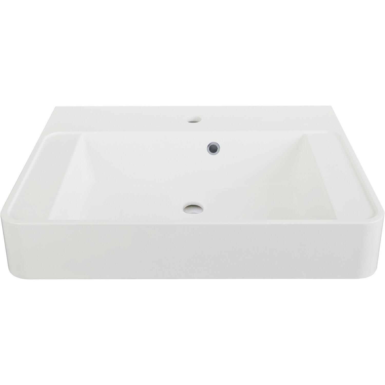 aquasu cuora multifunktions waschbecken 60 cm wei kaufen bei obi. Black Bedroom Furniture Sets. Home Design Ideas