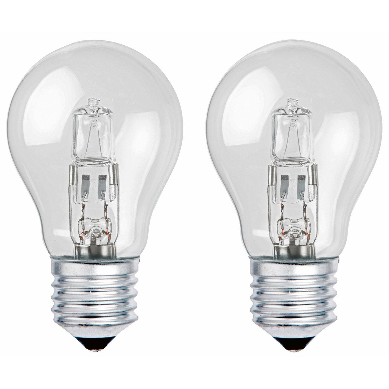 CMI Halogenlampe Glühlampenform E27 / 70 W (1180 lm) Warmw. 2er-Pack EEK: D