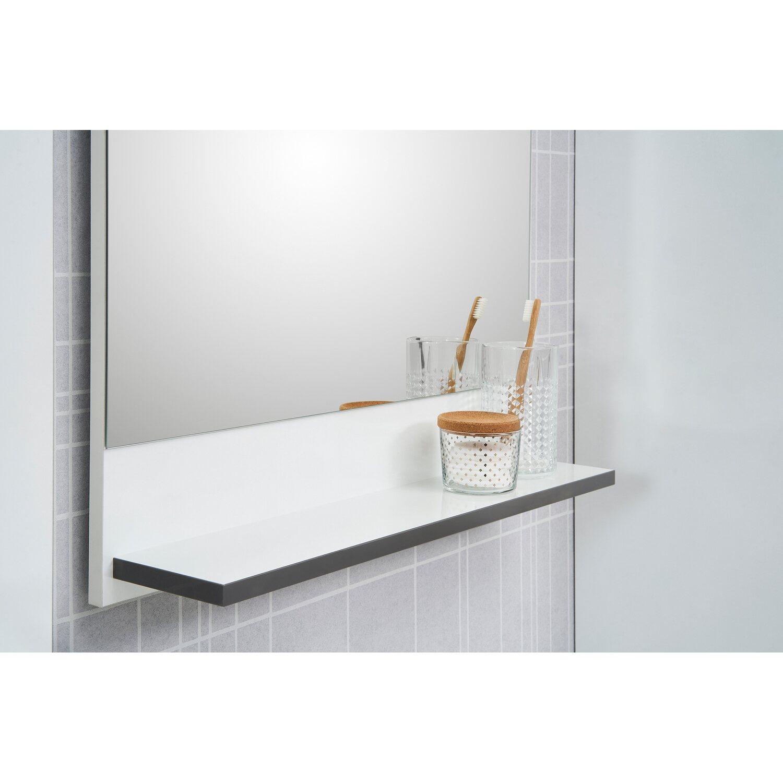 Badezimmerspiegel Ablage.Pelipal Spiegel Mit Ablage 60 Cm Schwerin Weiss Kaufen Bei Obi
