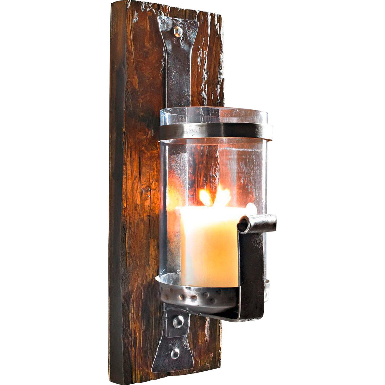 best of home wand kerzenhalter wood kaufen bei obi. Black Bedroom Furniture Sets. Home Design Ideas