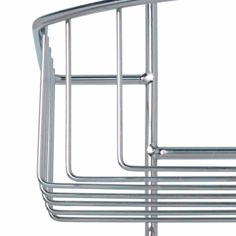 duschablage edelstahl ohne bohren cool mdesign duschablage zum hngen praktisches duschregal. Black Bedroom Furniture Sets. Home Design Ideas