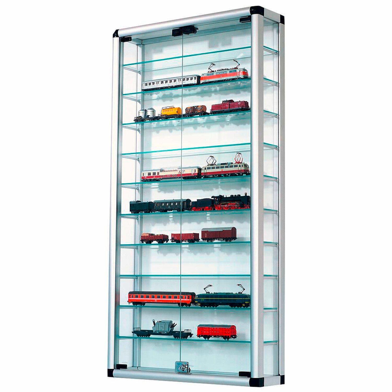 best of home glas sammlervitrine mit schloss 124 cm x 60 cm x 17 cm kaufen bei obi. Black Bedroom Furniture Sets. Home Design Ideas