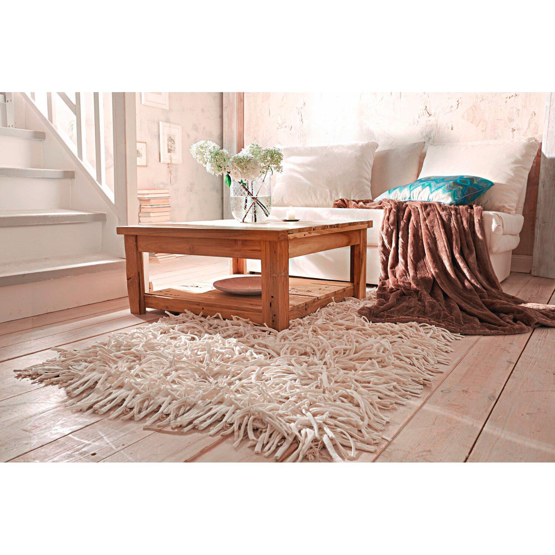 best of home Best of home Teppich mit Zotteln 90 cm x 160 cm Natur