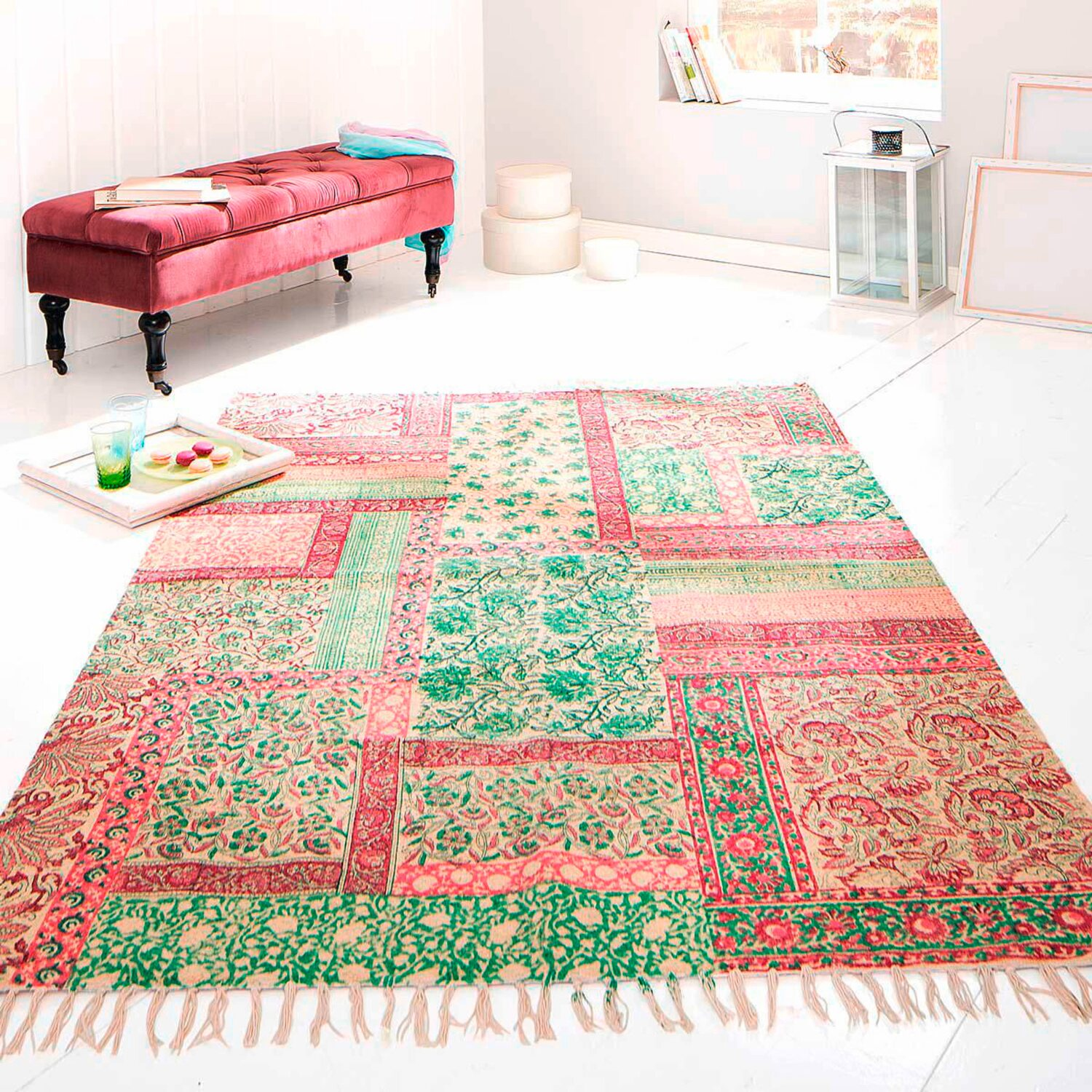 best of home Best of home Teppich Patchwork 170 cm x 240 cm