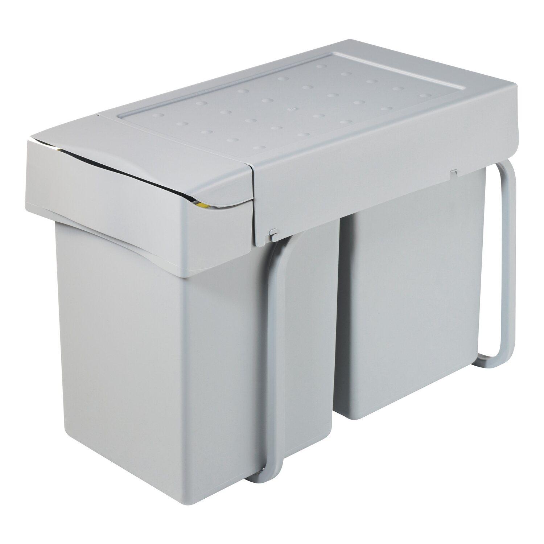 OBI Einbau-Mülleimer 2 x 14 l