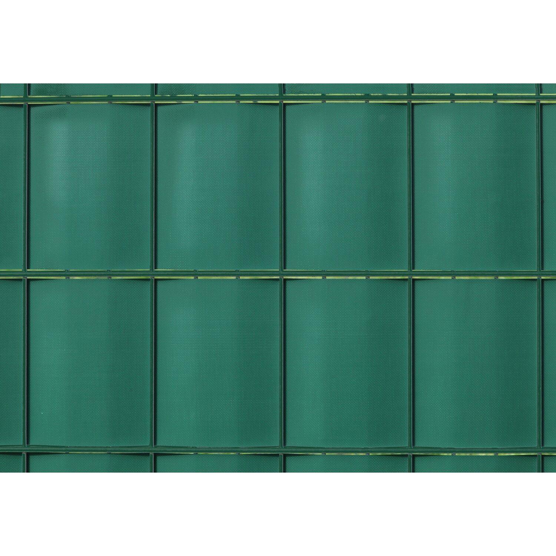 pvc sichtschutzstreifen auf rolle gr n 19 cm x 20 5 m kaufen bei obi. Black Bedroom Furniture Sets. Home Design Ideas