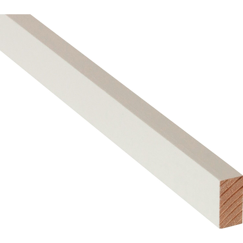 rechteckleiste wei lackiert 10 mm x 20 mm l nge 900 mm kaufen bei obi. Black Bedroom Furniture Sets. Home Design Ideas