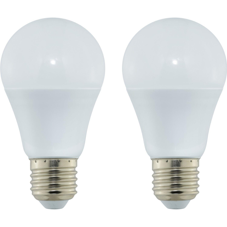 OBI LED-Leuchtmittel Glühlampenform E27 /10 W (806 lm) Warmweiß 2er ...