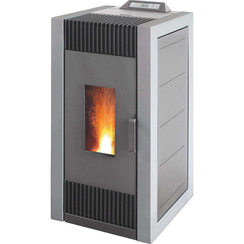 Blaze  Pelletofen ES 10 Grau