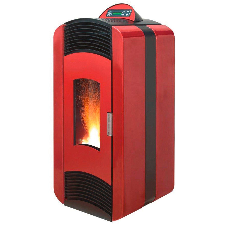 Blaze  Pelletofen Extra 10 Rot