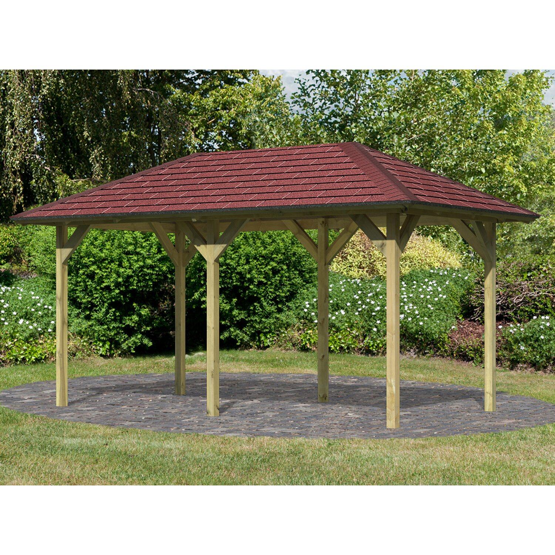 Gartenpavillon online kaufen garten u0026 for Holzpool obi