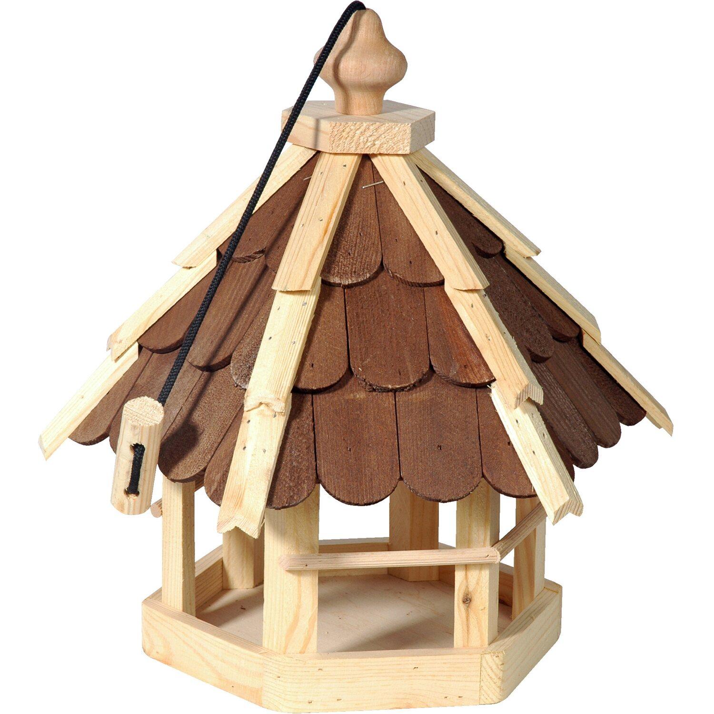 dobar vogelfutterhaus mit holzschindeln kaufen bei obi. Black Bedroom Furniture Sets. Home Design Ideas