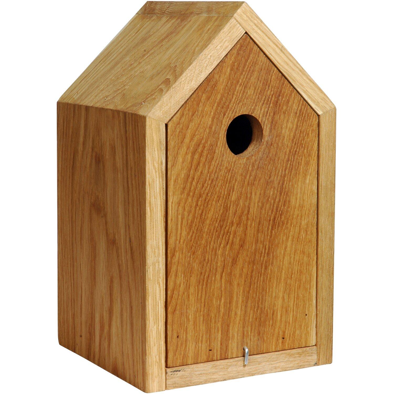 dobar design nistkasten eichenholz mit spitzdach braun kaufen bei obi. Black Bedroom Furniture Sets. Home Design Ideas