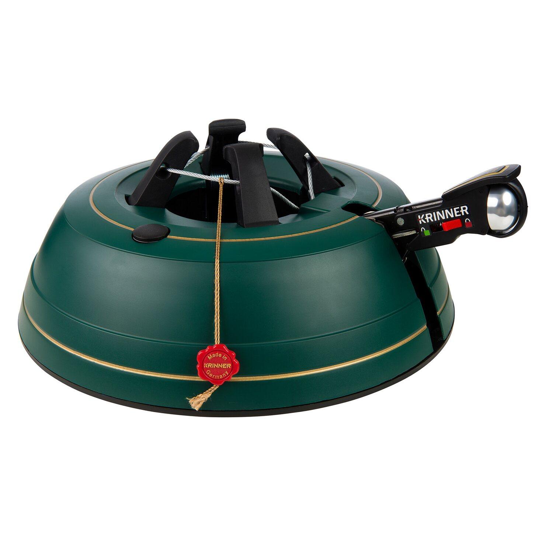 Krinner Weihnachtsbeleuchtung.Krinner Christbaumständer Premium L Mit Wassertank Für Baumhöhe Bis 2 7 M