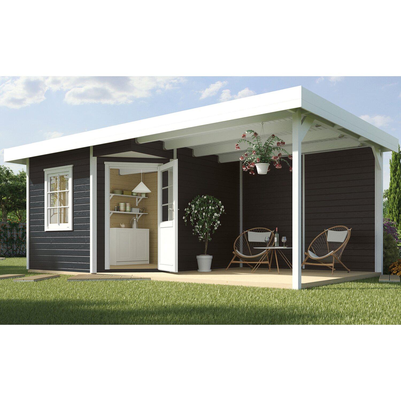 weka holz gartenhaus san remo b anthrazit wei bxt 601x298. Black Bedroom Furniture Sets. Home Design Ideas