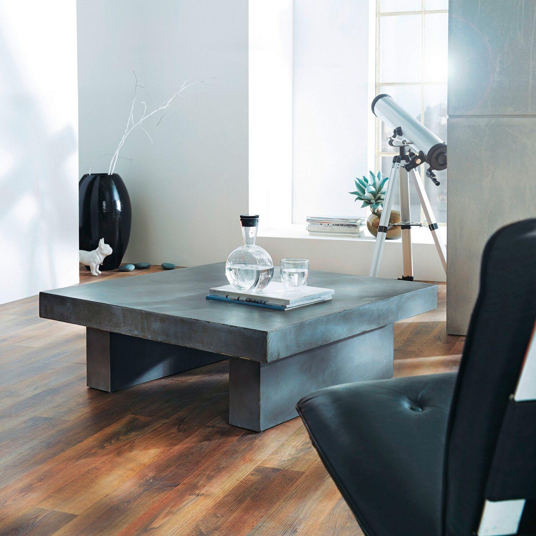 Best Of Home Couchtisch Modern 30 5 Cm X 90 Cm X 90 Cm Grau Kaufen