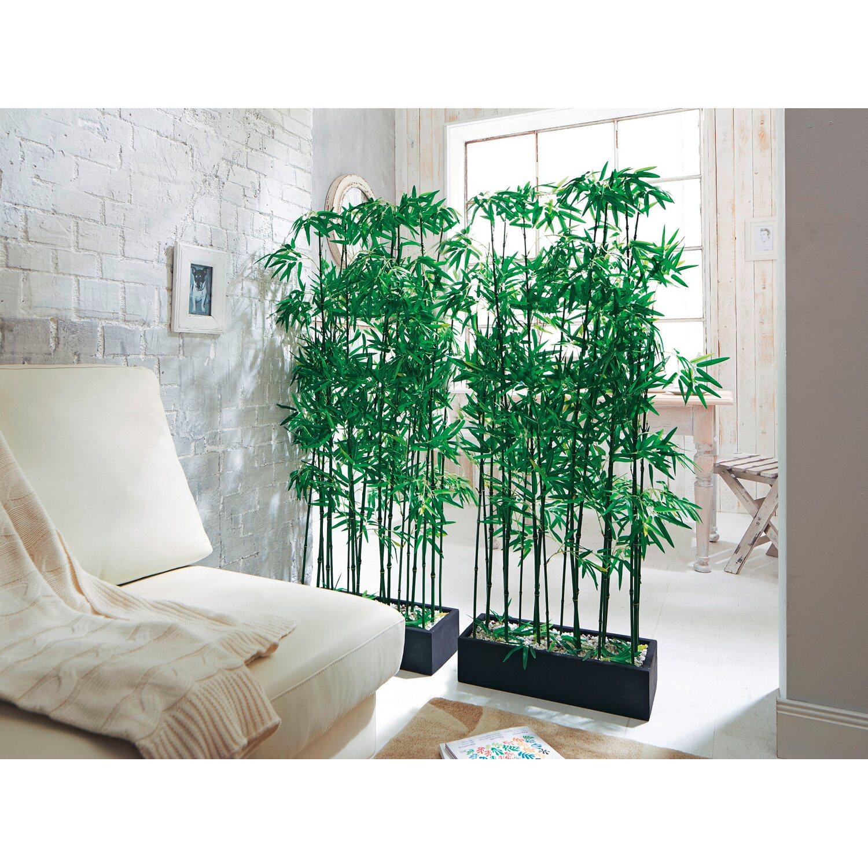 Best Of Home Kunstpflanze Raumtrenner Bambus 140 Cm X 50 Cm X 20 Cm