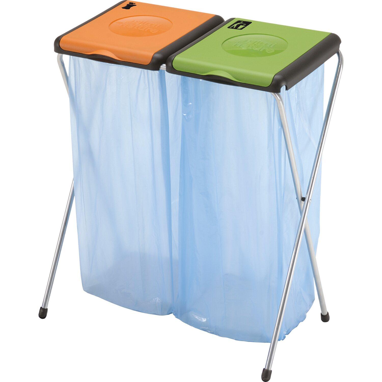 Gimi Müllsackständer Nature 2 Für 130 L Je Sack