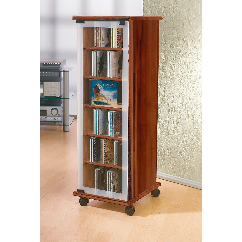 vcm cd dvd m bel valenza nussbaum nachbildung kaufen bei obi. Black Bedroom Furniture Sets. Home Design Ideas