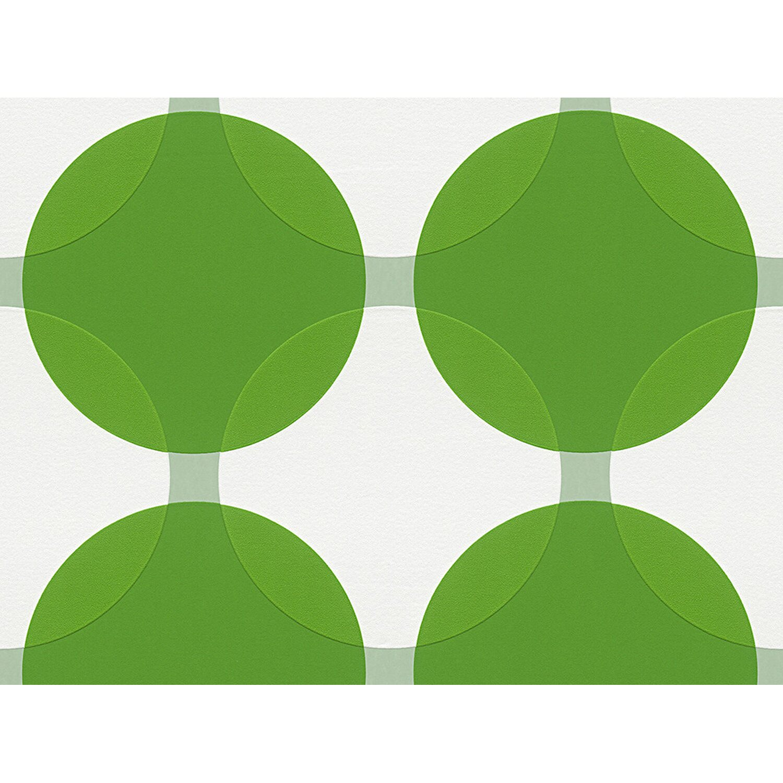 Sonstige Aisslinger Vliestapete Punkte Grün