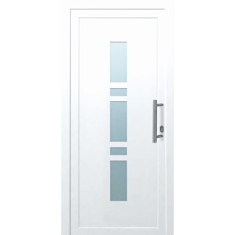 Kunststoff Haustür K017 Weiß 110 Cm X 210 Cm Anschlag Rechts Kaufen