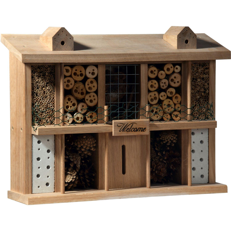 eichenholz insektenhotel landsitz superior mit 10 zimmern kaufen bei obi. Black Bedroom Furniture Sets. Home Design Ideas