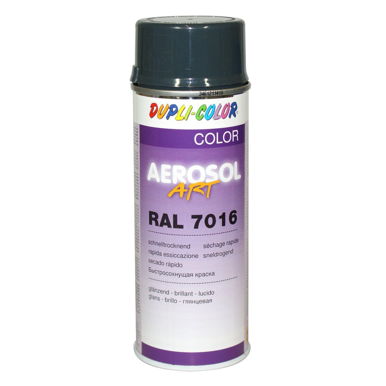 da3400fc35ff Dupli-Color Lackspray Aerosol-Art RAL 7016 Anthrazitgrau 400 ml ...
