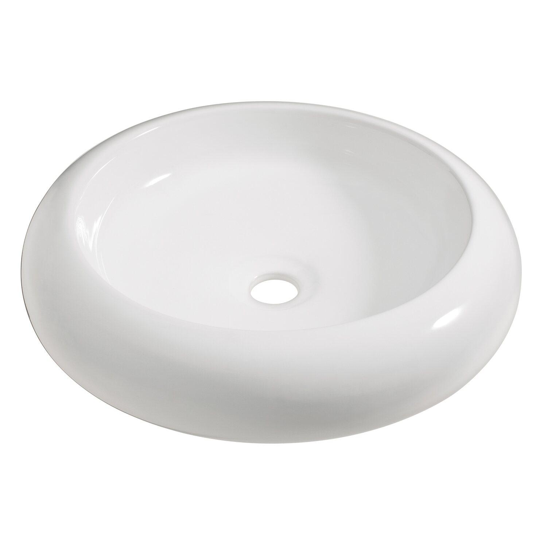 OBI Aufsatzwaschbecken Imia 45 x 45 cm rund