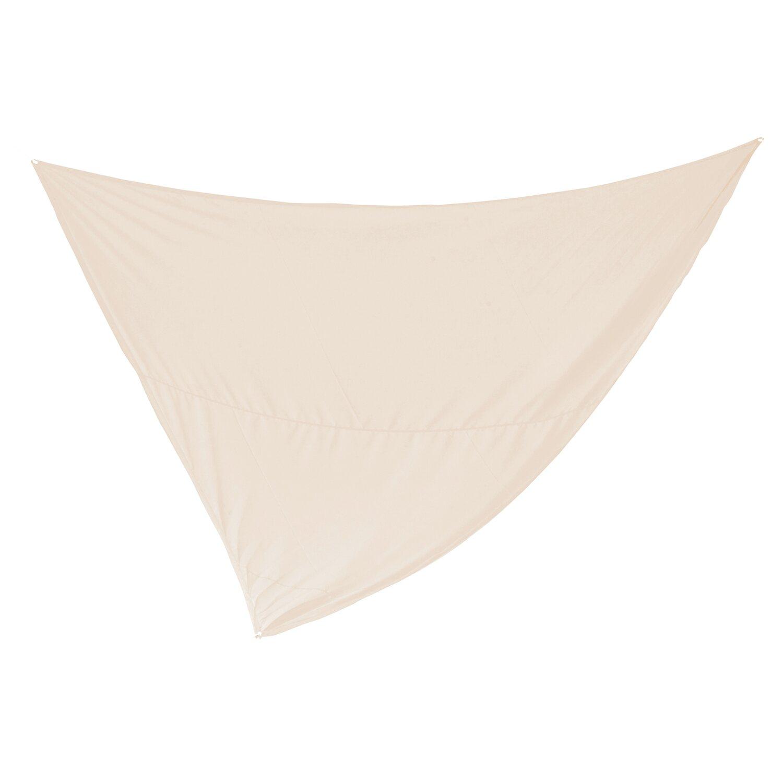 Dreieck-Sonnensegel Elfenbein 360 cm x 360 cm x...