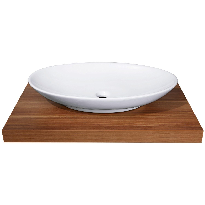 obi aufsatzwaschbecken samar 70 cm rund wei kaufen bei obi. Black Bedroom Furniture Sets. Home Design Ideas