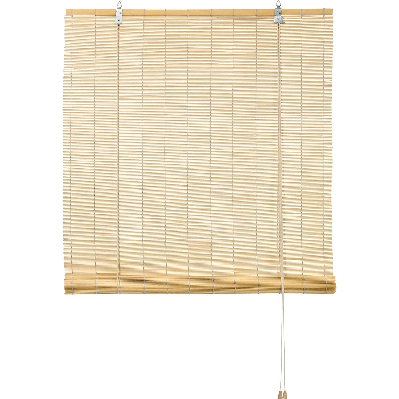 obi bambus raffrollo 140 cm x 160 cm natur kaufen bei obi. Black Bedroom Furniture Sets. Home Design Ideas