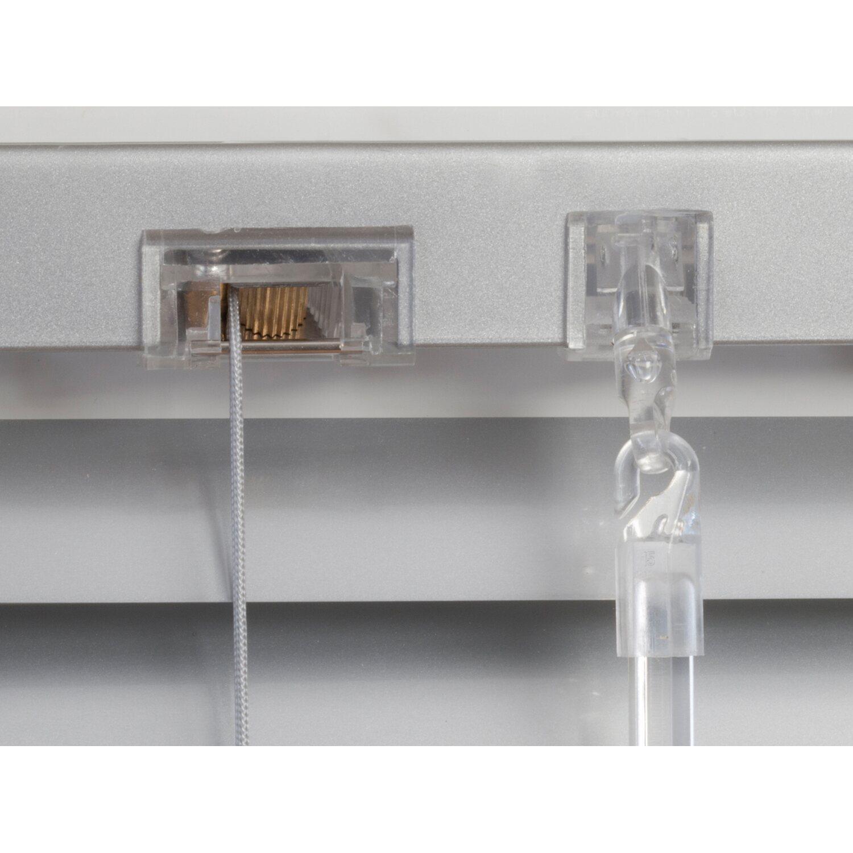 Alu Jalousien Außen.Obi Aluminium Jalousie Burgos 50 Cm X 160 Cm Silber