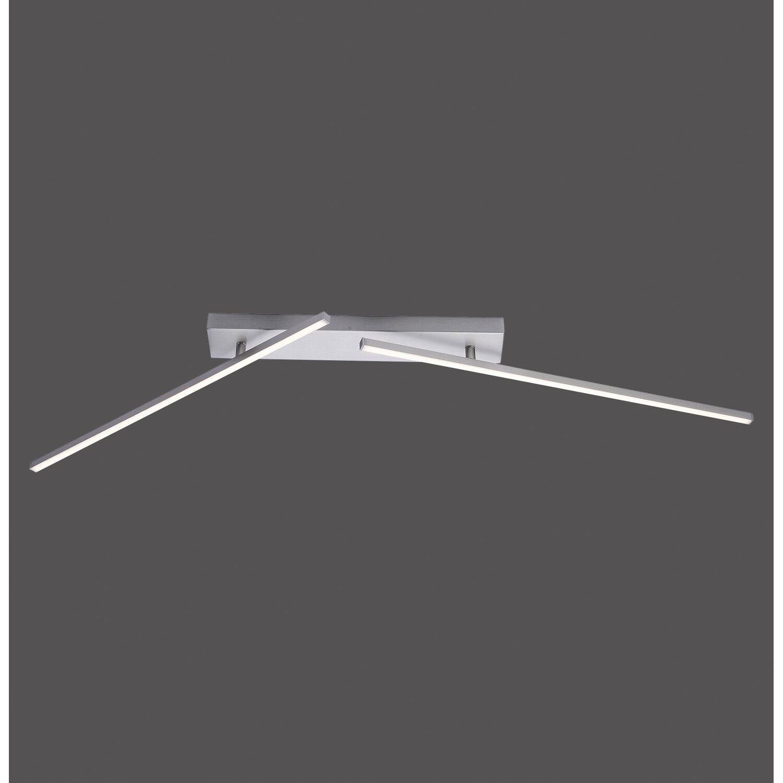 paul neuhaus led deckenleuchte inigo 2 flammig eek a. Black Bedroom Furniture Sets. Home Design Ideas