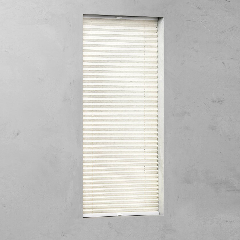 cocoon plissee verspannt 20 mm leinen 40 cm x 130 cm kaufen bei obi. Black Bedroom Furniture Sets. Home Design Ideas