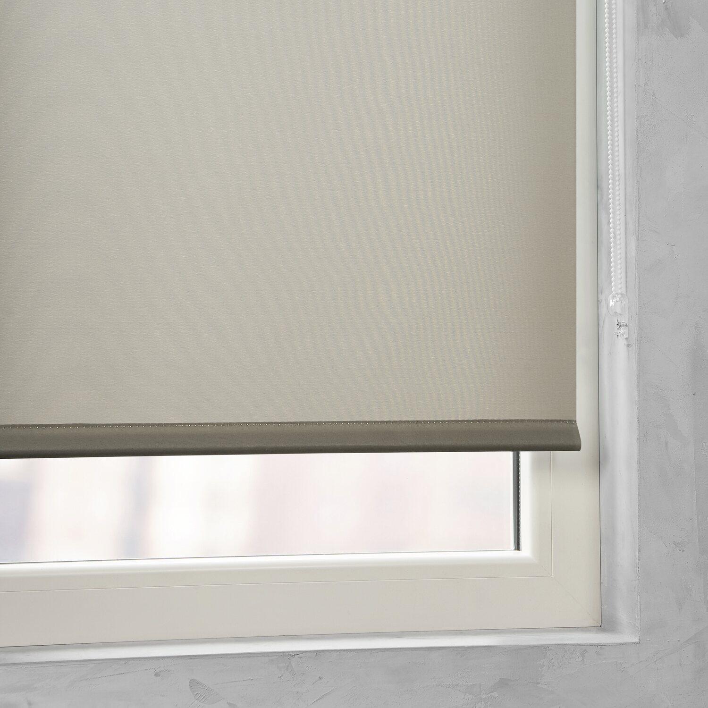 cocoon easy fix rollo tageslicht taupe 90 cm x 210 cm kaufen bei obi. Black Bedroom Furniture Sets. Home Design Ideas