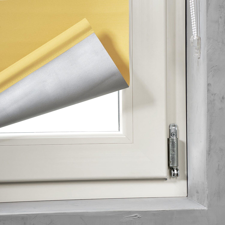 cocoon easy fix rollo verdunklung gelb 100 cm x 150 cm kaufen bei obi. Black Bedroom Furniture Sets. Home Design Ideas