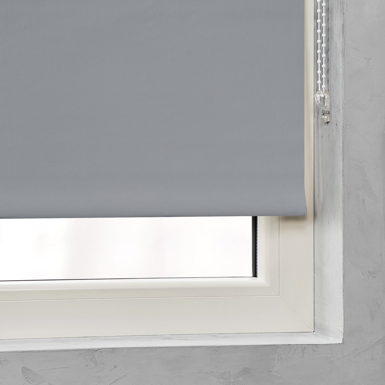 rollo verdunklung 25 mm grau 90 cm x 275 cm kaufen bei obi. Black Bedroom Furniture Sets. Home Design Ideas