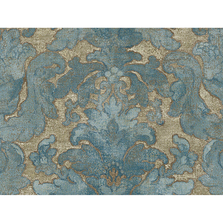 AS Creation A.S. Creation Vliestapete Bohemian Burlesque Ornament Blau