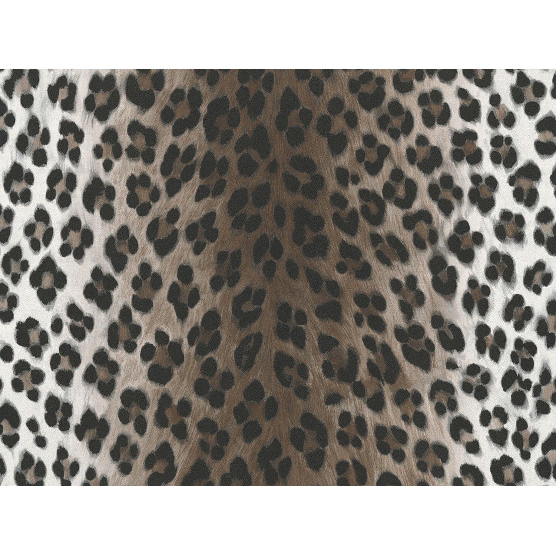 AS Creation A.S. Creation Papiertapete Dekora Natur Leopard Weiß